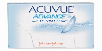 Contactlenzen ACUVUE ADVANCE met Hydraclear