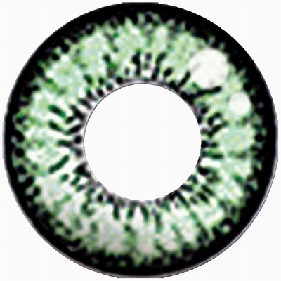Funlenzen TerrorEyes contactlenzen Magic Green Eye