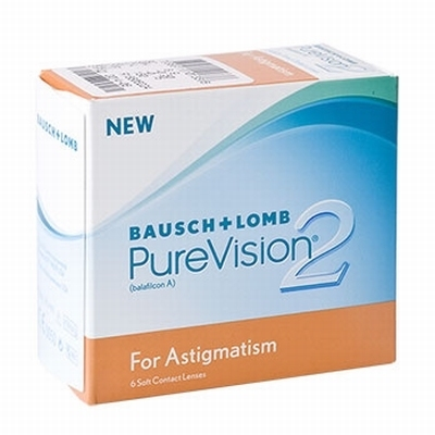 Contactlenzen PureVision 2 HD for Astigmatism  6 pack