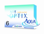 Contactlenzen Air Optix Aqua, 6-pack (ACTIE)