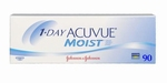 Contactlenzen 1 Day ACUVUE MOIST, 90 pack